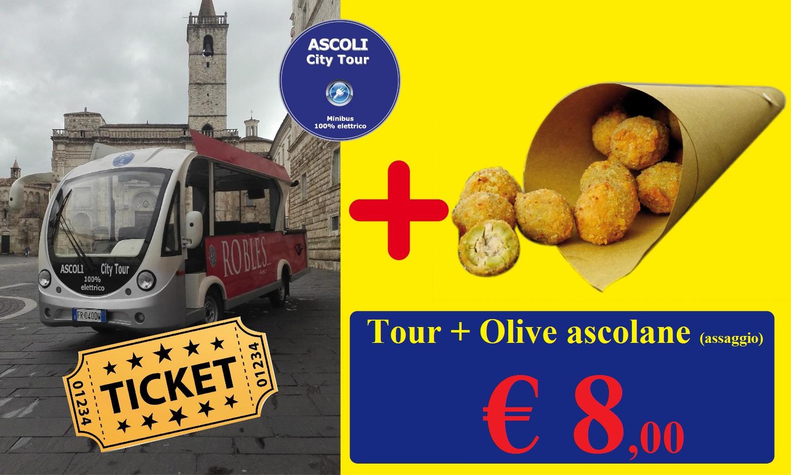 Offerta tour+cartoccio €8